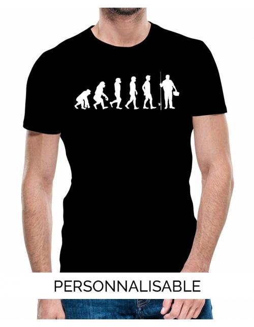 T-shirt Pêche Evolution - Personnalisable - Pilou et Lilou