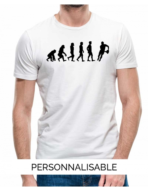 T-shirt Rugby Evolution - Personnalisable - Pilou et Lilou