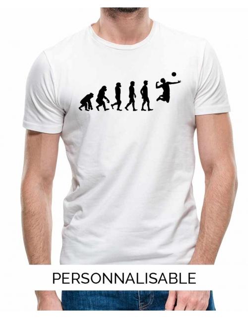 T-shirt Volley Evolution - Personnalisable - Pilou et Lilou