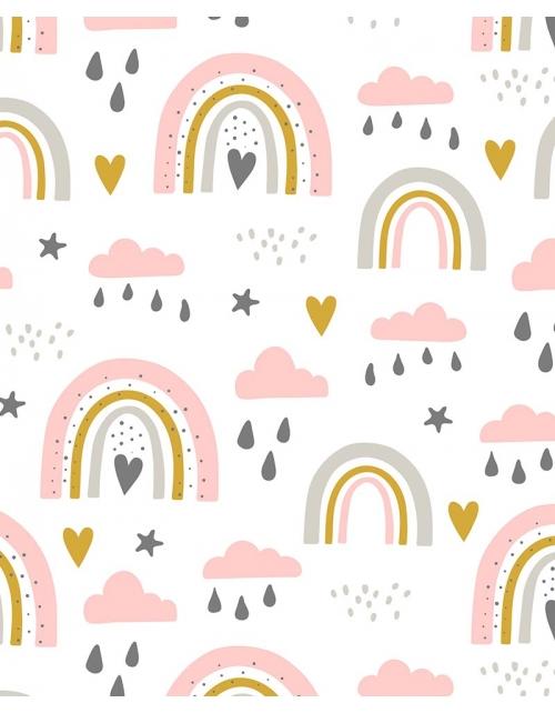 Papier Peint Joy - Pilou et Lilou
