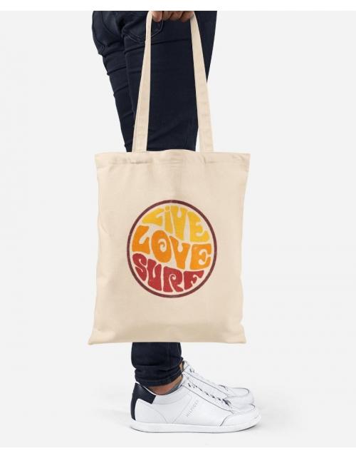 Tote Bag - Live Love Surf
