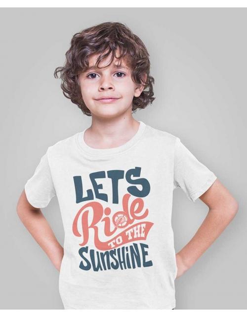 T-Shirt enfant Let's Ride