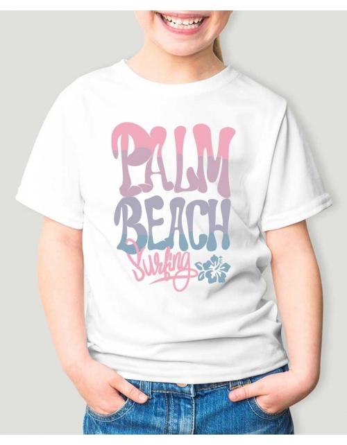 T-Shirt enfant Palm Beach Surf