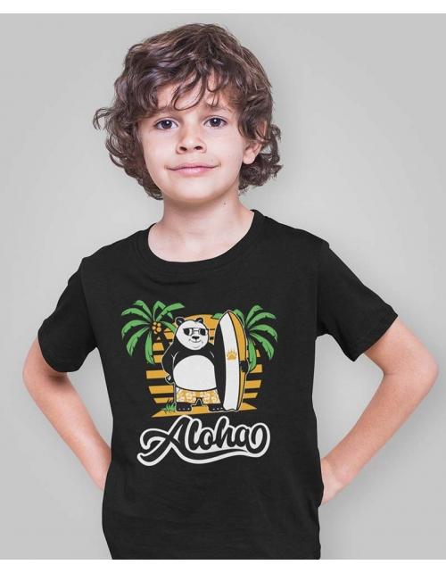 T-Shirt Surf Panda by Pilou et Lilou