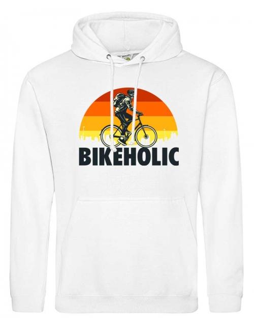 Sweat à capuche BikeHolic by Pilou et Lilou