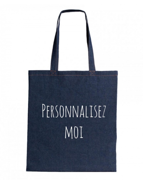 Tote Bag Denim à personnaliser - PrintMyDeco
