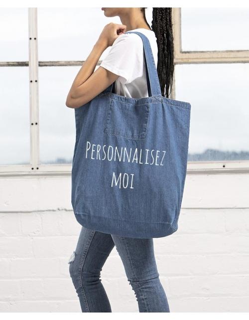 Maxi sac à personnaliser - Denim