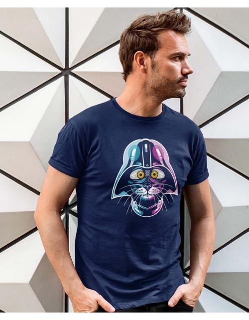 T-shirt Homme Cat Vador
