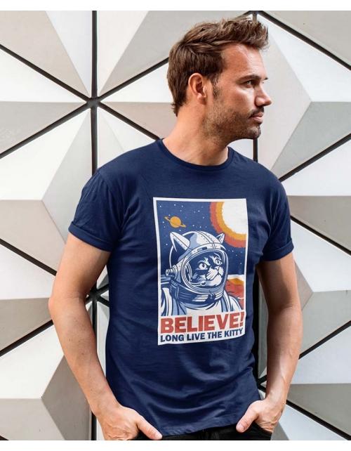T-shirt Space Cat