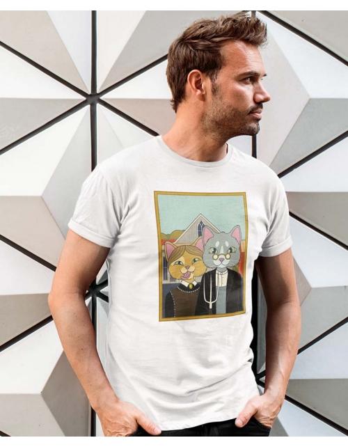 T-shirt Homme The Farm Cats