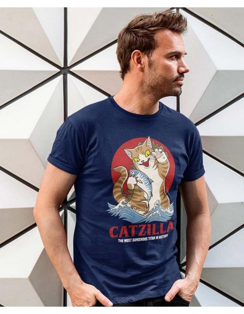 T-shirt Homme Catzilla