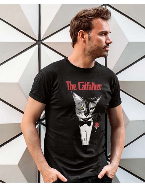 T-shirt The Cat Father