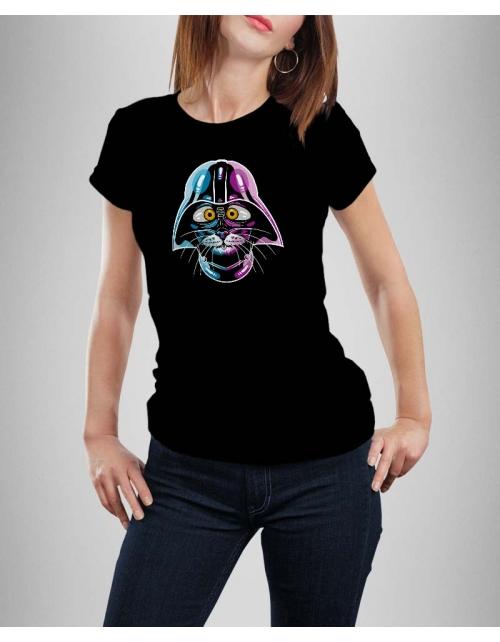 T-shirt Femme Cat Wars