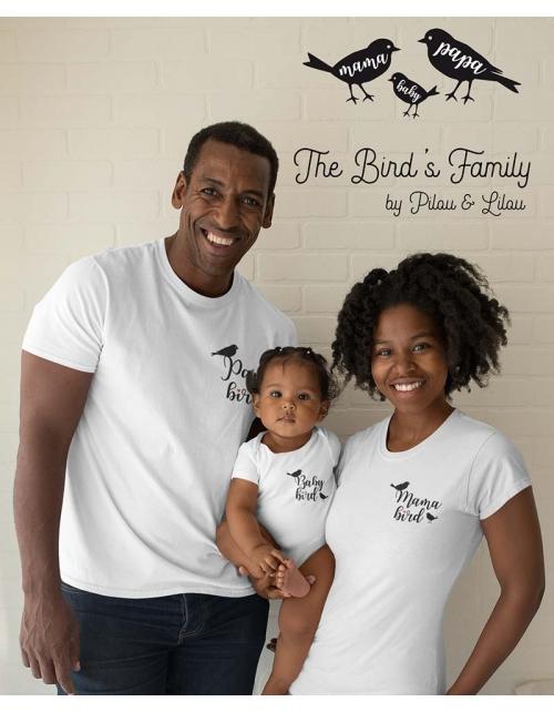 T-shirt Papa Bird