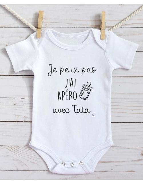 Body Bébé - Je peux pas j'ai Apéro avec Tata