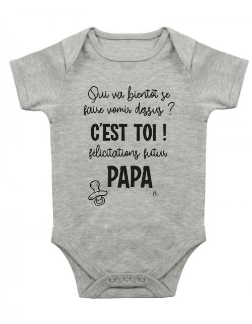 Body Bébé - Annonce Grossesse à Papa