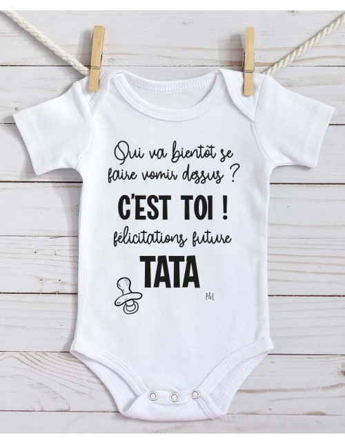 Body Bébé - Annonce Grossesse à Tata