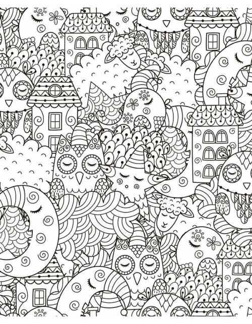 Coloriage - Sweet Dreams