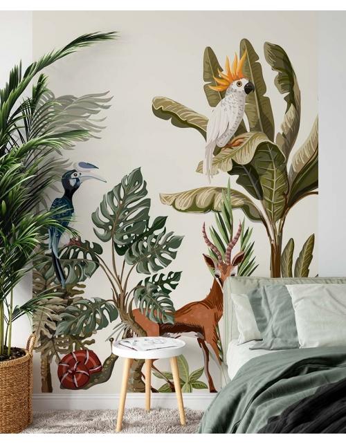 Papier Peint Panoramique Exotic Jungle
