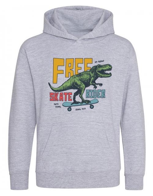 Hoodie enfant Dino Rider