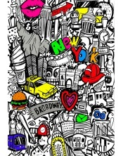 Coloriage - New-York Tag