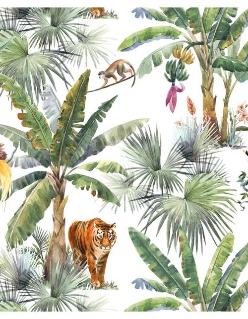 Papier Peint Tigre de la Jungle