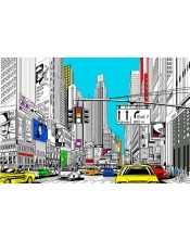 Coloriage - New-York Street