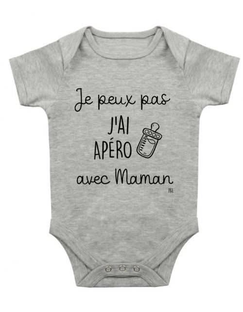 Body Bébé - Je peux pas j'ai Apéro avec Maman