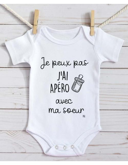 Body Bébé - Je peux pas j'ai Apéro avec Ma Soeur