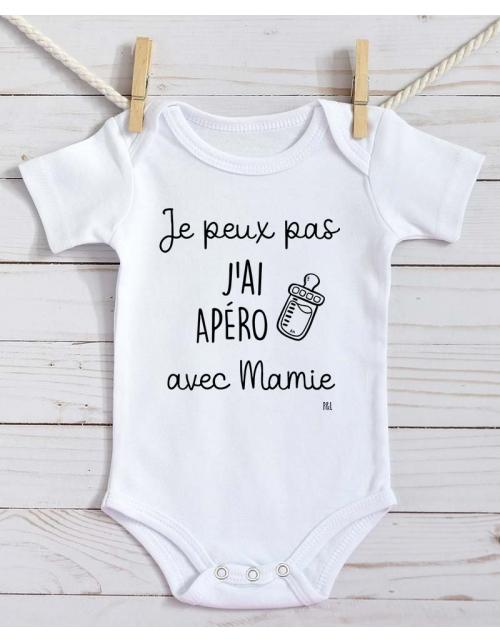 Body Bébé - Je peux pas j'ai Apéro avec Mamie