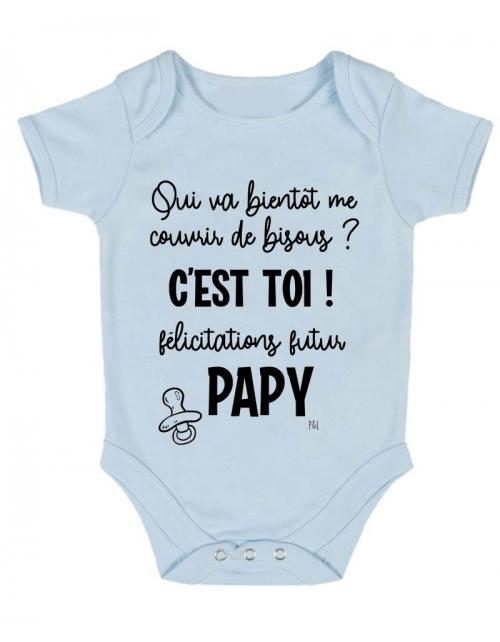 Body Bébé - Annonce Grossesse à Papy