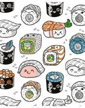 Coloriage - Sushi Ki Ri