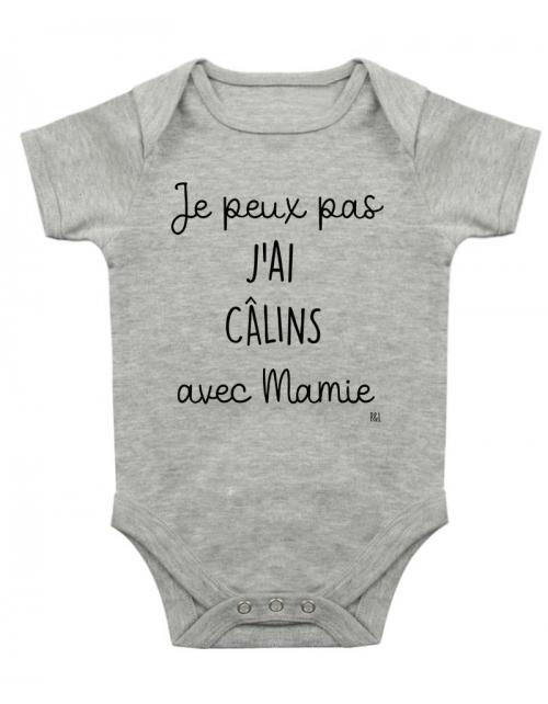 Body Bébé - Je peux pas j'ai Câlins avec ma Mamie