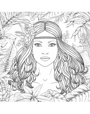 Coloriage - Amazone