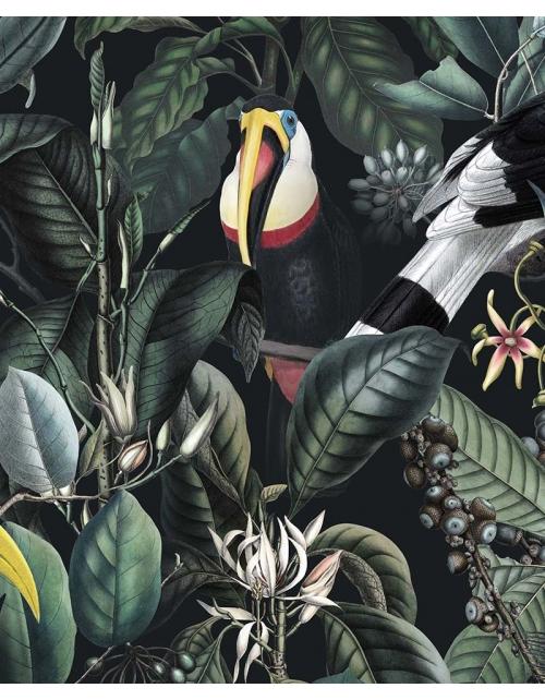 Papier Peint Foret Tropicale Luxuriante