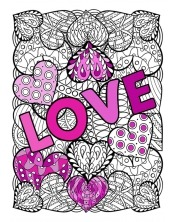Coloriage - Love