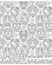 Coloriage - Sugar Skull