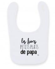 Bavoir Bébé Les bons petits plats