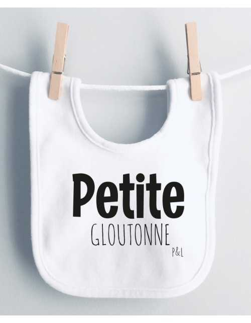 Bavoir Petit(e) Glouton(ne)