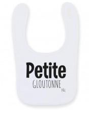 Bavoir Bébé Petit(e) Glouton(ne)