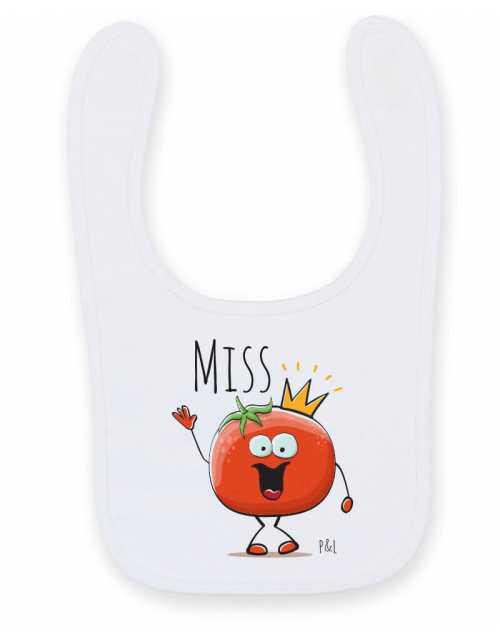 Bavoir Bébé Miss Tomate
