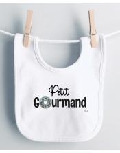 Bavoir Bébé Petit Gourmand
