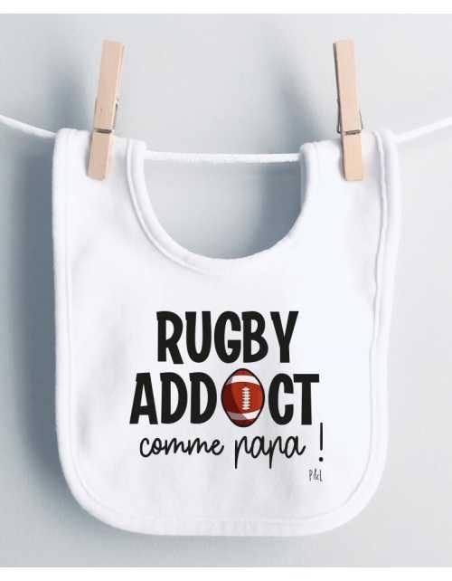 Bavoir Rugby Addict