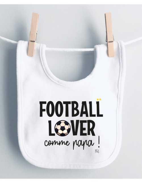 Bavoir Football Lover