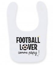 Bavoir Football Lover