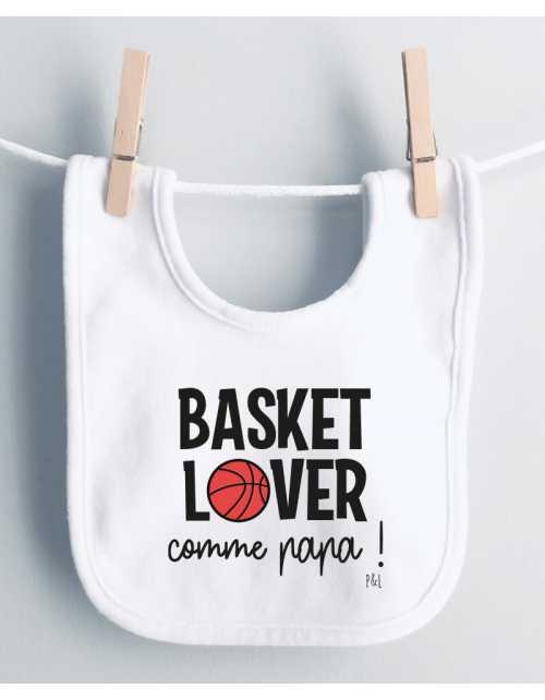 Bavoir Basket Lover