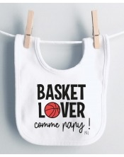 Bavoir Basket Lover