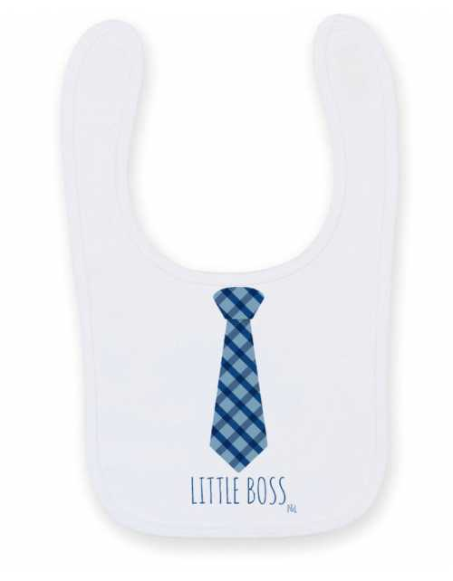 Bavoir Little Boss