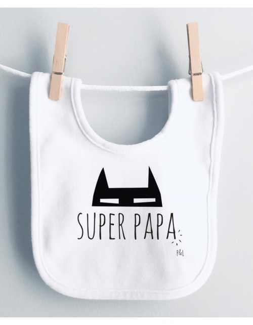 Bavoir Super Papa