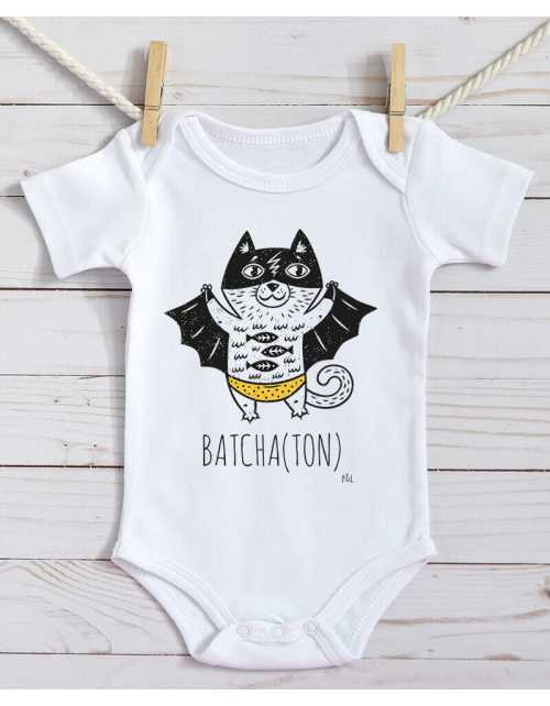 Body Bébé - Bat-Chaton